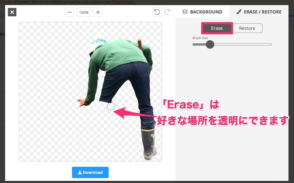 【ワンクリックで完了】背景を透明に!無料ツール『remove.bg』の使い方と注意点